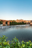 Old bridge in Albi, France Stock Image