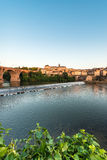 Old bridge in Albi, France Stock Images