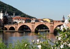 Old Bridge or Alte Brücke in Heidelberg, Germany Stock Photo