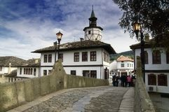 Free Old Bridge And House In Tryavna Stock Photo - 16582250