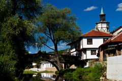 Free Old Bridge And House In Tryavna Stock Image - 37205711