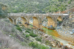 Old bridge of Andalusia Royalty Free Stock Photography