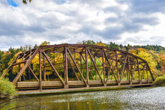 Old bridge in Autumn Royalty Free Stock Image