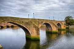The Old Bridge of Ayr Stock Photos