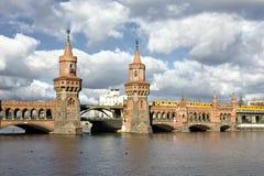 Old bridge in berlin. Old bridge over the river spree near schlesisches tor in berlin, germany Stock Photos
