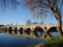 The old Bridge in Beziers Royalty Free Stock Image