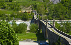 The Old Bridge of Bobbio Royalty Free Stock Photo