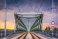 Old Bridge in Bratislava, Slovakia royalty free stock photos