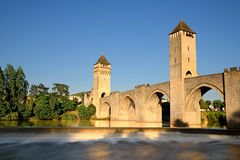 Old bridge cahors Royalty Free Stock Photos