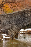 Old bridge in Central Park, Manhattan Royalty Free Stock Image