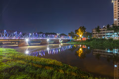 Old Bridge in Chiang mai, Thailand Royalty Free Stock Photo