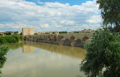 Old bridge. Cordoba, Spain Stock Image