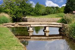 Old bridge in the Cotswolds Royalty Free Stock Photo