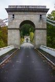 Old bridge in Czech Republic. Old bridge in South Bohemian region. Czech Republic stock images