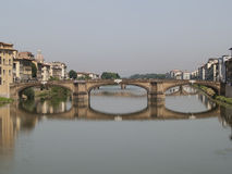 Old bridge of  Florence.  Stock Photography