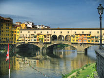 Old bridge in Florence Royalty Free Stock Photo