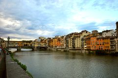 The old bridge, Florence , Italy Stock Photo