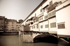 Old bridge, Florence, Italy Royalty Free Stock Photos