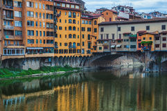 Old Bridge in Florence, Italy Royalty Free Stock Photo