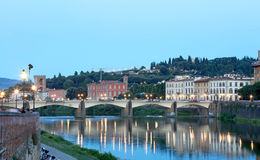 Old Bridge in Florence, Italy Stock Photography