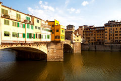 Old Bridge in Florence, Italy Royalty Free Stock Images