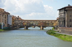 The Old Bridge, Florence, Italy. View of the Old Bridge, Florence, Italy Stock Photos