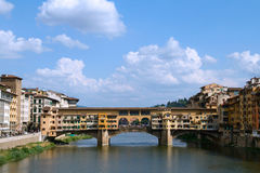 Old bridge in florence Stock Photography