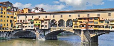 Old Bridge in Florence Italy. Ponte Vecchio bridge in Florence, Italy royalty free stock images