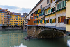 The Old Bridge in Florence Royalty Free Stock Photos