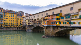The Old Bridge in Florence Royalty Free Stock Images