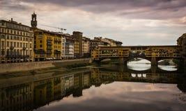 Old Bridge Florence stock photography