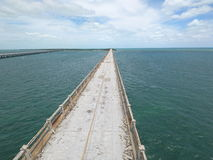 Old bridge in the Florida Keys Stock Images