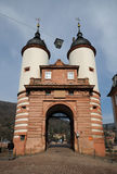 Old Bridge Gate in Heidelberg Royalty Free Stock Photo