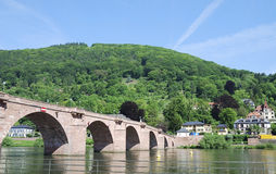 Old Bridge of Heidelberg Stock Photos
