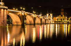Old bridge, Heidelberg Royalty Free Stock Image