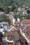 Old Bridge of Heidelberg, Germany Stock Image