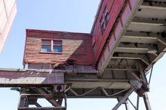 Old bridge housing Stock Image