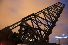 Old Bridge In Cleveland Stock Image