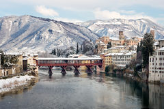 Old Bridge in Italy Royalty Free Stock Image