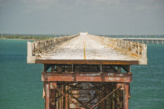 Old bridge key west Stock Photography