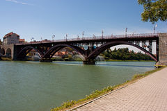 The Old Bridge in Maribor Stock Image
