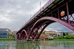 Old bridge in Maribor Stock Photos