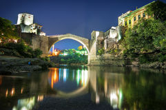 The Old Bridge, Mostar Royalty Free Stock Photo
