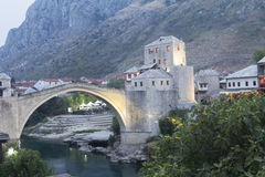 Old bridge in Mostar Stock Photos