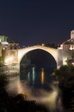 The Old Bridge in Mostar Stock Images