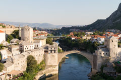 The Old Bridge in Mostar Stock Photo