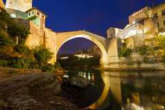 Old Bridge in Mostar - Bosnia and Herzegovina Royalty Free Stock Photos