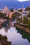 Old Bridge in Mostar - Bosnia and Herzegovina Stock Images