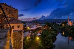 Old Bridge in Mostar - Bosnia and Herzegovina Royalty Free Stock Image
