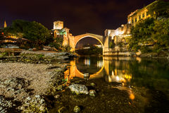 Old Bridge in Mostar - Bosnia and Herzegovina Stock Photos